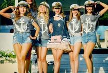 - nautical hen party theme - / nautical but nice hen party ideas...