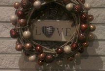 Wreaths / kransen / couronne / Wreaths Kransen couronne diy om zelf te maken