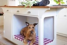 Pets home / dog house / cat house / bench / Pets Cats Dogs beds and homes bench