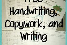 Copywork, Notebooking and Handwriting / FREE Resources for copywork, notebooking and handwriting plus great tips and ideas.