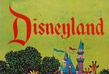 Disney Attraction Vintage Posters / Vintage Disney Attraction Posters
