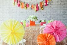 - fiesta hen party theme - / a fiesta themed hen party with mexican decorations, pinatas and moustaches!