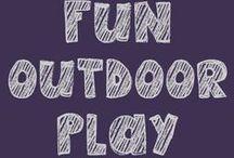 Fun Outdoor Play Ideas