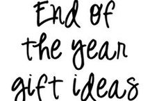 End of the Year Gift Ideas / gift ideas and activities for the end of the school year
