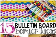Bulletin Board Shenanigans / 2nd grade bulletin board resources, ideas, materials, DIY, anchor charts, and more for elementary school