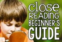 Close Reading Shenanigans / 2nd grade close reading resources, activities, strategies, games, anchor charts, and more for 2nd grade teachers and students in elementary school