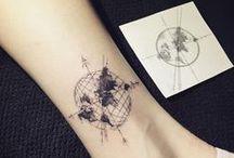 All dem tattoos