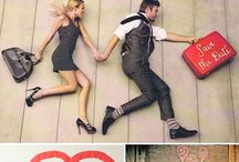 Save-the-date photo ideas / Inspiration photo fiançailles