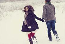 Couple photo ideas - engagement / Idées pour photos de couple