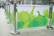 Cafe Barriers / Cafe Screens, cafe barriers, balustrade, windbreaks, smart screens