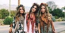 Bohemian Gypsy Souls / Handpick Fashion Outffits for Boho Gypsy Tribal Ethnic Styles