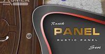 Rustik Panel Serisi / Rustic Panel Series