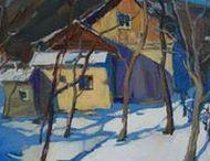 Landscape Art / Landscape Art. Oil Paintings.