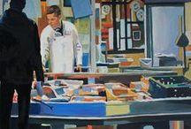 Figurative Art / Oil Paintings. Figurative Art.