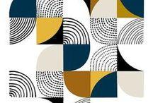 Prints and Tile Art / Lino prints. Wallpaper prints. Wood Prints. Tiles.