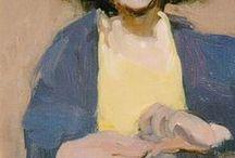 Portrait Art / Oil paintings. Portraits of people. Art