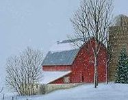 American Landscape Art / Paintings of the American landscape. Urban and rural landscapes.
