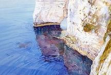 Seascapes / Paintings in which the Sea is the main focus.