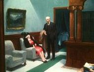 American Realism / Edward Hopper, John Register, Leah Giberson, Jessica Brilli, Jim Holland and others who follow in footsteps of Hopper .