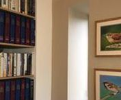 In Collectors' Homes / Photos of Emma Cownie's paintings in Collectors' Homes