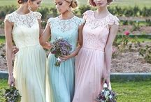 wedding: bridesmaids. / by Courtney Little