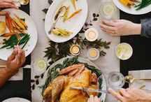 Thanksgiving / Hacks for cooking perfect turkey, tablesettings, party ideas, things to do for kids and more to have an easy and fun Thanksgiving holiday.