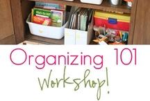 organization. / by Courtney Little