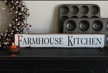 Kitchen / by The Rustic Sign