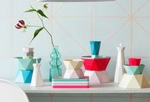 Kitchen Style / Style and decor ideas - from design to colored utensils.