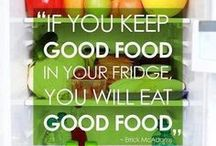 Quotes / The funny, the inspirational and motivational, all surrounding kitchen and food.