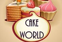Cake World / Creative and delicious cakes.