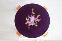 DIY: Embroidery/Broderie