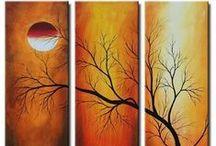 ღ αbstraḉt   ραḯиtḯиgs ღ       / One of the best things about paintings is their silence - which prompts reflection and random reverie. ~ Mark Stevens