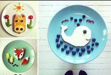Playing with food / Las ideas más originales para decorar los platos de comida para niños y mayores.
