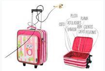 Viajar con peques / Travelling with kids / Cosas muy útiles para viajar con niños. En avión, en coche, en tren...