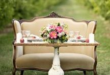 The BRIDE and GROOM Table