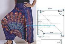 mGGì: Pantaloni / Cartamodelli e idee per realizzare pantaloni