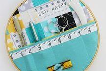 mGGì: Set Cucito & Puntaspilli / Come conservare il materiale del cucito e realizzare puntaspilli carini.