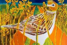 Bird Life / What is more beautiful a than bird? Artists are endlessly fascinated by their colour, their form, their movement in flight...