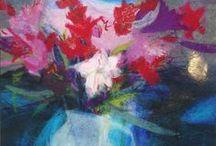 Artists Flowers / Paintings of flowers, paintings of gardens, flowers in fields, flowers in jugs, flowers in bouquets...a flowering of art.