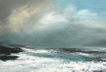 The Sea, the Sea / An island nation, the sea surrounds and affects us all. Scottish artists seem especially drawn to the sea and shoreline.