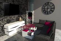 """CONCURSOS / Diseño propio """"Joyeux""""  El Conjunto de Mesa y Sillas Joyeux se compone de una mesa regulable a tres alturas y de dos taburetes auxiliares a la misma. El diseño del mueble se caracteriza por su simplicidad y versatilidad; busca aprovechar el espacio y adaptarse a las necesidades actuales, para lo cual ofrece multitud de combinaciones de materiales y color con el objeto de conseguir el encuadre ideal de la estancia en la que se ubique."""