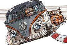 volkswagen drawings