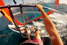 Windsurfing / Salt in the air, sand in my hair / by Giulia Ferrero