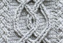 Englegarn Crochetting Samples / Here are my crochet samples.