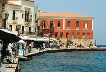 Chania... or Venice of Crete / One of the most beautiful, picturesque and romantique towns all over Europe.