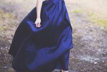 Аccent on skirt