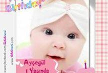 KARE DOĞUM GÜNÜ MAGNETLERİ / Çocuğunuzun digital resimli baskılı, temalı doğum günü magnetleri
