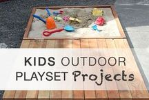 Outdoor Fun for Kids / Outdoor fun ideas like crafts, play spaces, games and activities.
