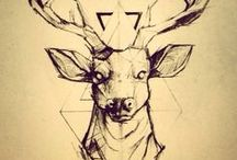 Geometric Tattoo Inspiration / Ideas for future geometric tattoos